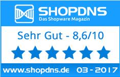ShopDNS Testergebnis