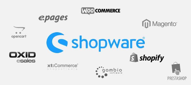 Shopsoftware, Shopsystem