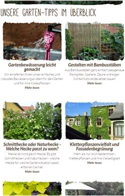 Native Plants Garten-Tipps