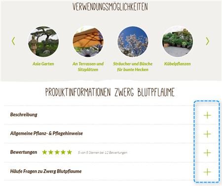 Native Plants Weitere Verwendungsmöglichkeiten und Informationen auf der Produktdetailseite