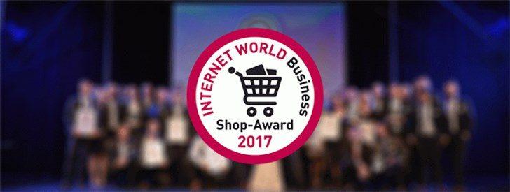 Verleihung des Shop Award im Rahmen der Internet World