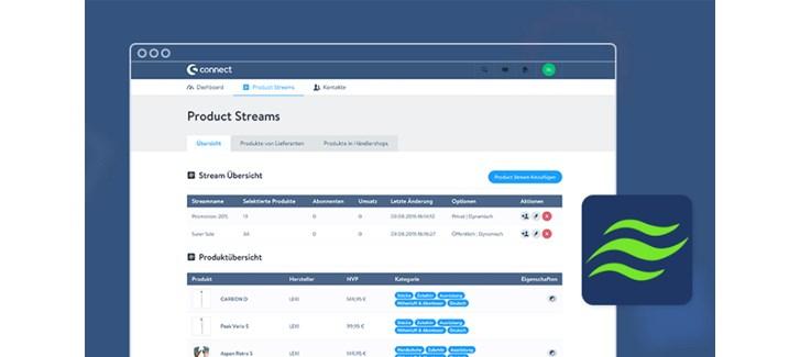 Shopware Connect Product Streams