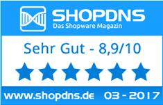 Quicklogin Testergebnis bei ShopDNS