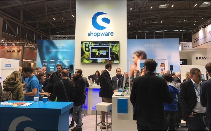 Shopware Stand Internet World 2017