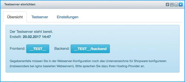 Testserver einrichten: Praktisches Plugin