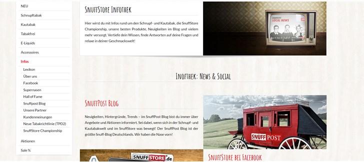 SnuffStore Shopvorstellung und Interview Infothek