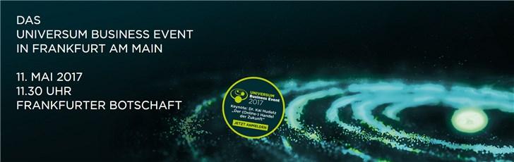 Das UNIVERSUM Business Event 2017