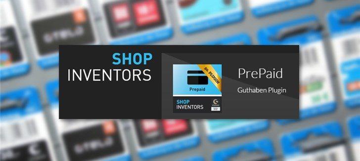 Netinvestors PrePaid-Plugin für Shopware