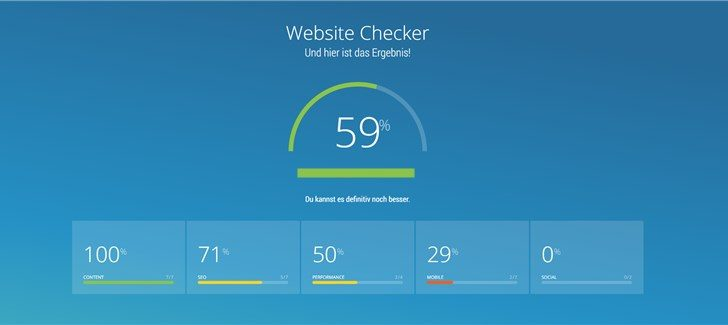 SEO Check mit dem OnPage.org Website Checker