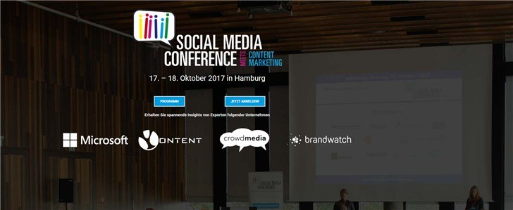 Social Media Conference 2017 meets Content Marketing