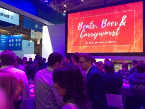 Beats Beer and Currywurst Standparty Internet World 2018