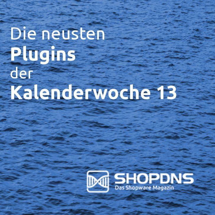 Die neusten Plugins der Kalenderwoche 13 Logo
