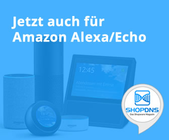 ShopDNS für Amazon Echo/Alexa