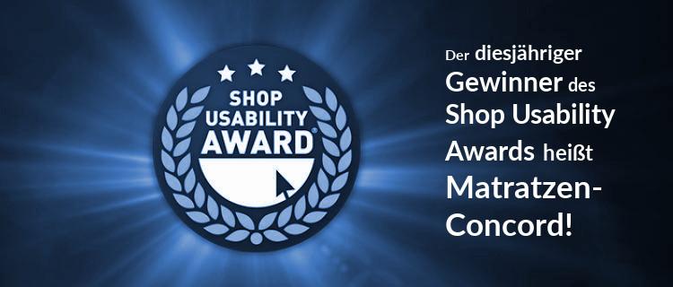 Die Gewinner des Shop usability Award 2018