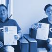 Cuong Chung and Chi Hieu Vo (von links) von der Agentur SHOPMACHER sind die ersten Shopware-Developer in Vietnam.