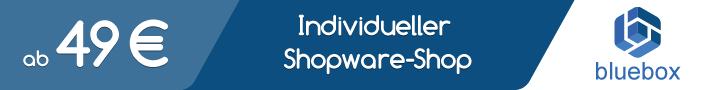 Individueller Shopware Shop ab 49 €
